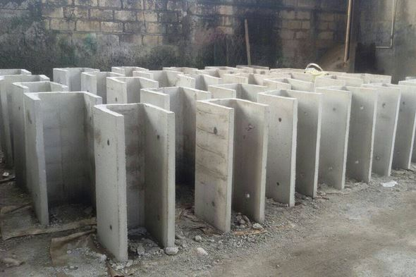 Jual Saluran U Ditch Beton (Precast) di Palembang
