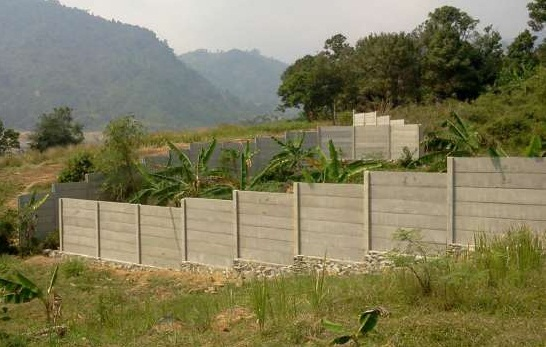 Fungsi Pagar Panel Beton pada Konstruksi