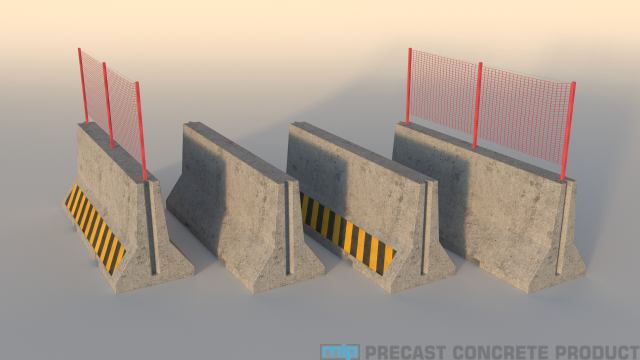 Aplikasi Road Barrier Beton di Indonesia