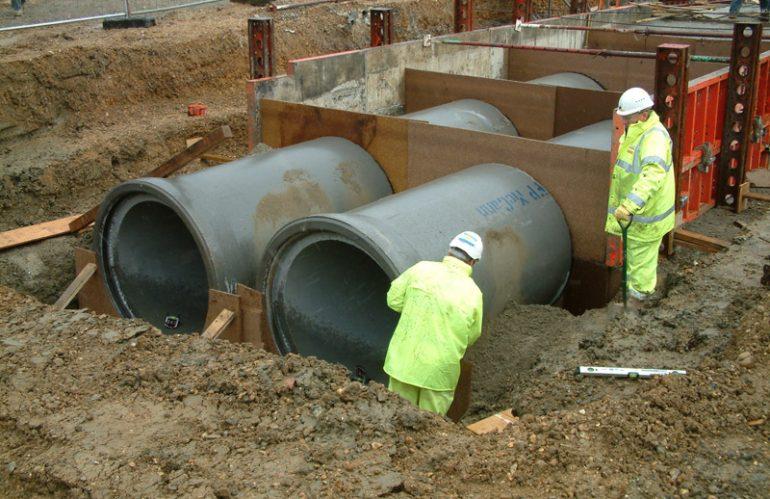 Penggunaan Komponen Pipa Beton pada Proyek Infrastruktur
