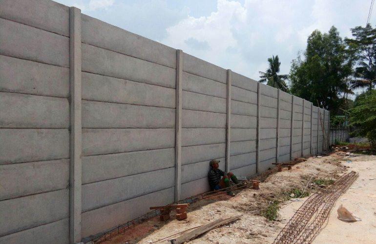 Jual Pagar Panel Beton Precast / Beton di Batu