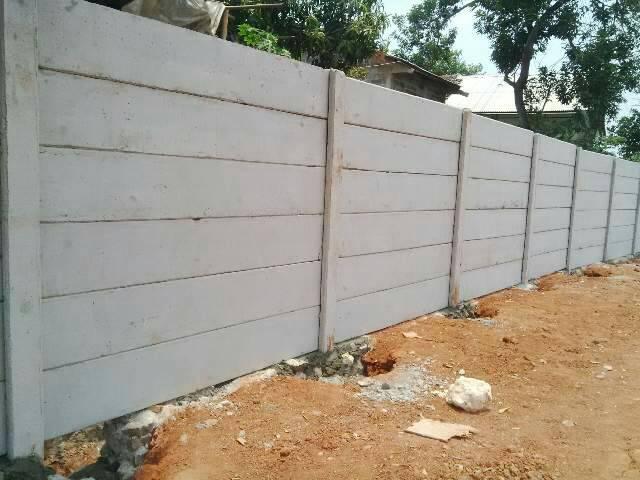 Jual Pagar Panel Beton Precast / Beton di Padang