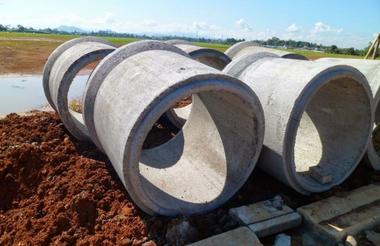 Jual Buis / Pipa Beton Bertulang (RCP) di Ambon