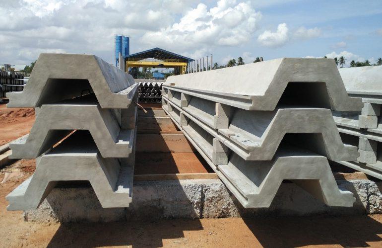 Jual Sheet Pile Beton Megacon di Kupang